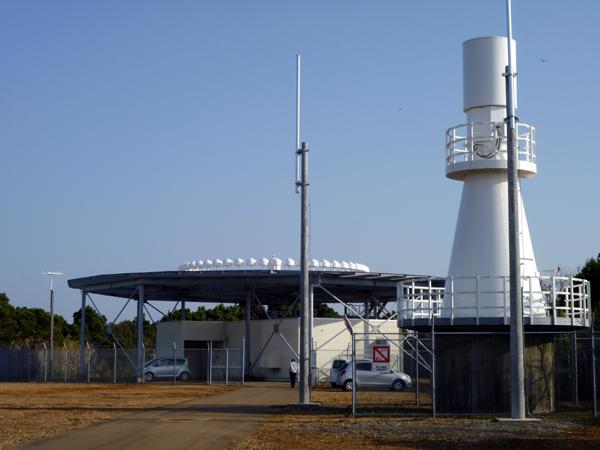 串本VOR・DME装置設置工事