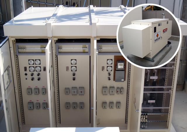 免許センター発動発電設備
