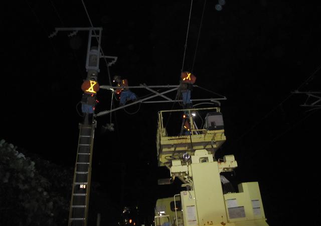 田気区管内電力設備修繕