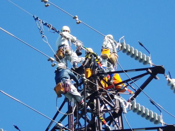 和歌山電力SC管内安全設備(クランプ他)修繕工事
