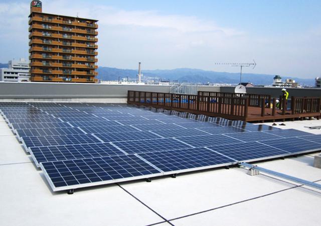 JR西日本支社ビル太陽光発電制御装置改修工事