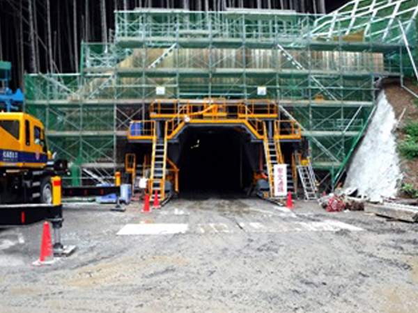 髙城トンネル道路改良仮設電気工事