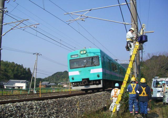 電柱架線電気工事